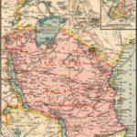 Deutsch-Ostafrika, Landkarte 1919