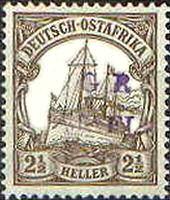 Deutsch-Ostafrika 2,5 Heller, 1915 Mafia