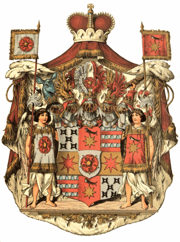 Fürstentum Lippe, Großes Staatswappen