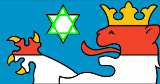 Hexagramm im Wappen Thüringens