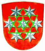 Hexagramm - Thüringen Wappen 1921-33