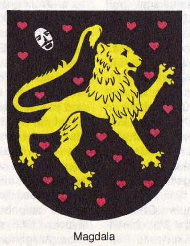 Magdala, Wappen