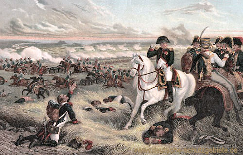 Napoleon bei Wagram