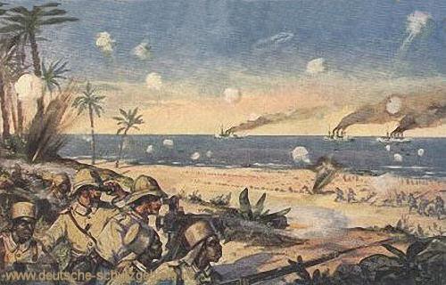 Deutsch-Ostafrika, Schlacht von Tanga