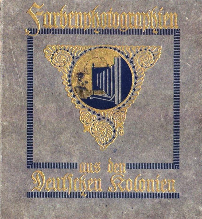 Cover Farbenphotographien aus den Deutschen Kolonien