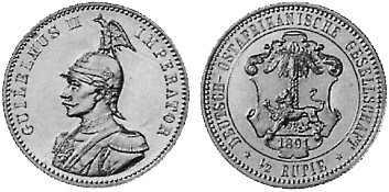 1/2 Rupie (1891)
