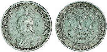 1/4 Rupie (1901)
