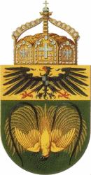 Deutsch-Neuguinea, Wappen (Entwurf)