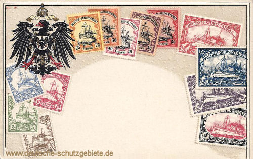 Briefmarken aus Deutsch-Südwest-Afrika