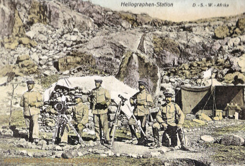 Deutsch-Südwest-Afrika, Heliographen-Station