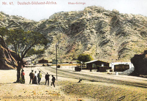 Deutsch-Südwest-Afrika, Khau-Gebirge