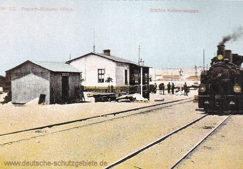 Deutsch-Südwest-Afrika, Station Kolmanskuppe