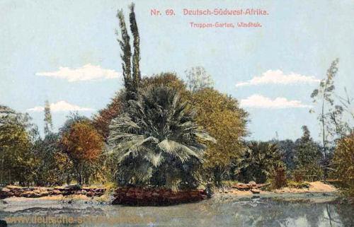 Deutsch-Südwest-Afrika, Truppen-Garten, Windhuk