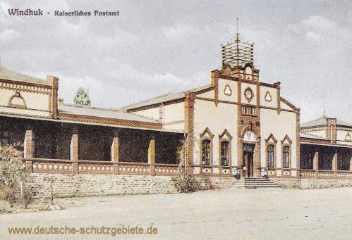Deutsch-Südwest-Afrika, Windhuk, Kaiserliches Postamt