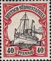 Deutsch-Südwestafrika 40 Pfennig, 1900