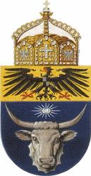 Deutsch-Südwestafrika, Wappen (Entwurf)
