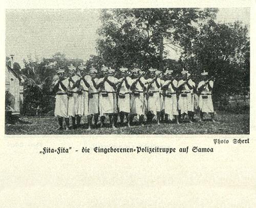 """""""Fita-Fita"""" - die Eingeborenen-Polizeitruppe auf Samoa"""