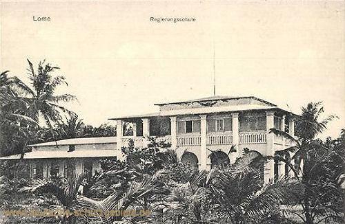 Lome, Regierungsschule