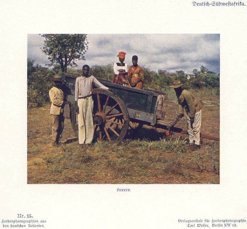 Nr. 15 Deutsch-Südwestafrika, Herero