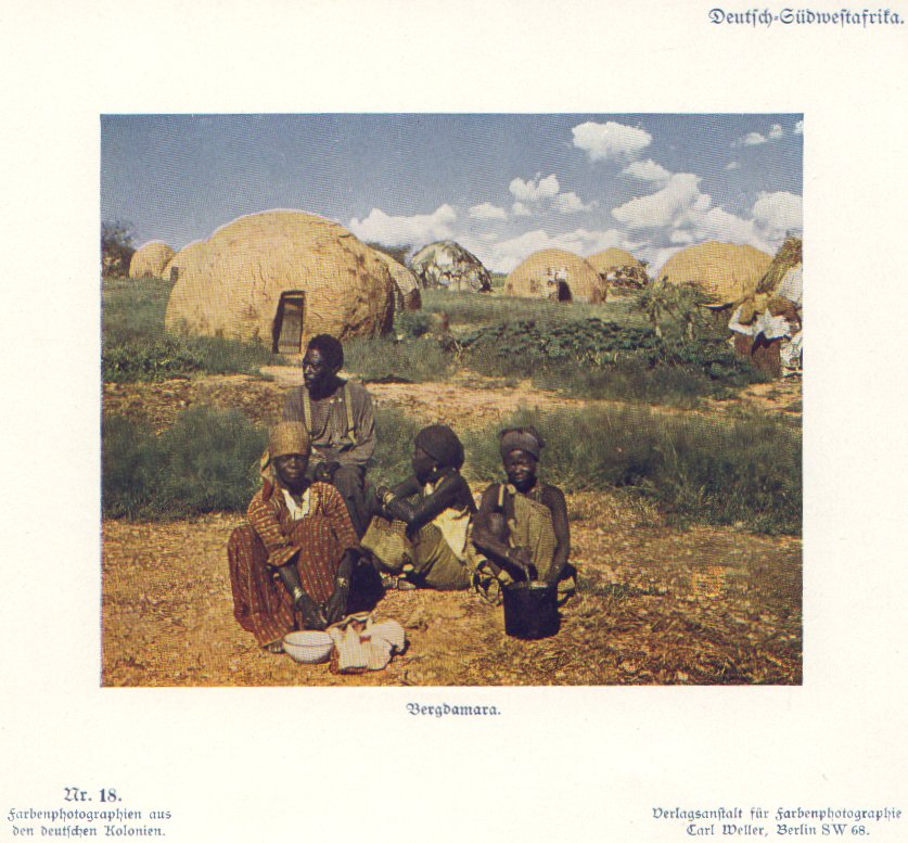 Nr. 18 Deutsch-Südwestafrika, Bergdamara