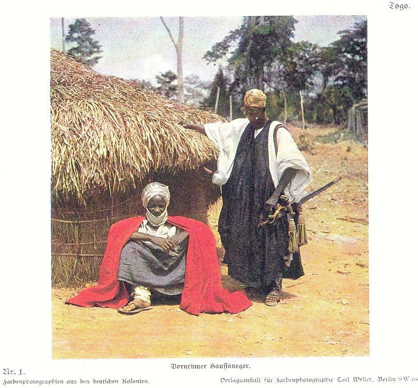 Nr. 1 Togo. Vornehmer Haussaneger