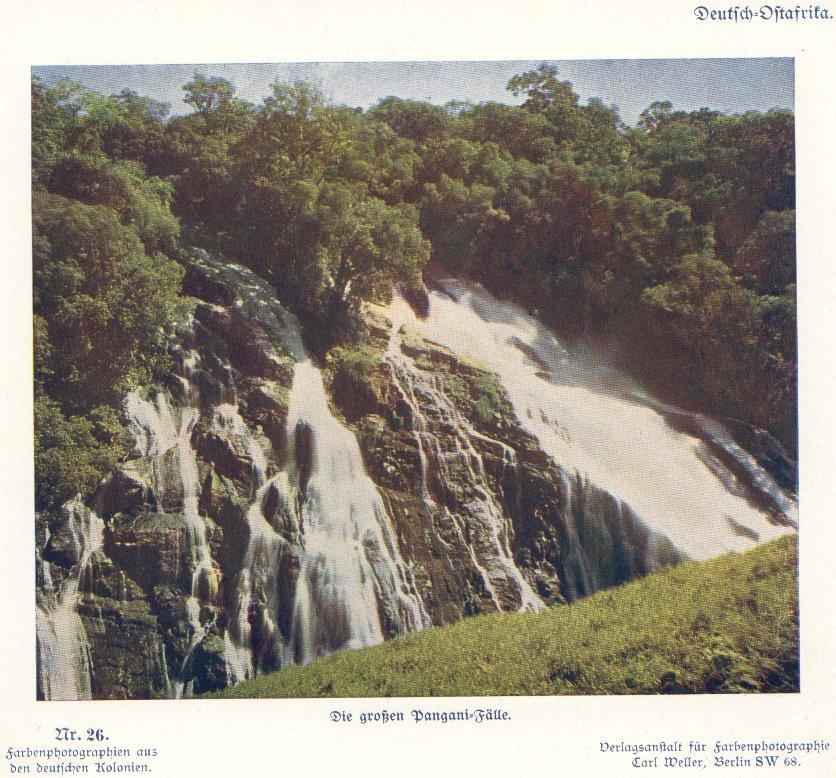 Nr. 26 Deutsch-Ostafrika, Die großen Pangani-Fälle
