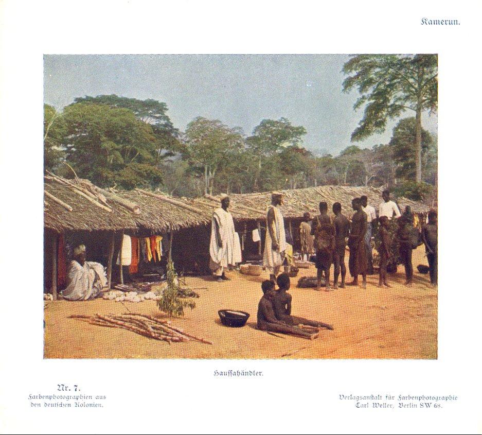 Nr. 7 Kamerun, Haussahändler
