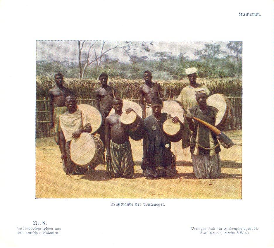 Nr. 8 Kamerun, Musikbande der Wuteneger