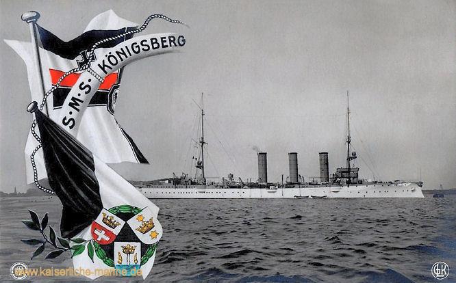 S.M.S. Königsberg, Kleiner Kreuzer