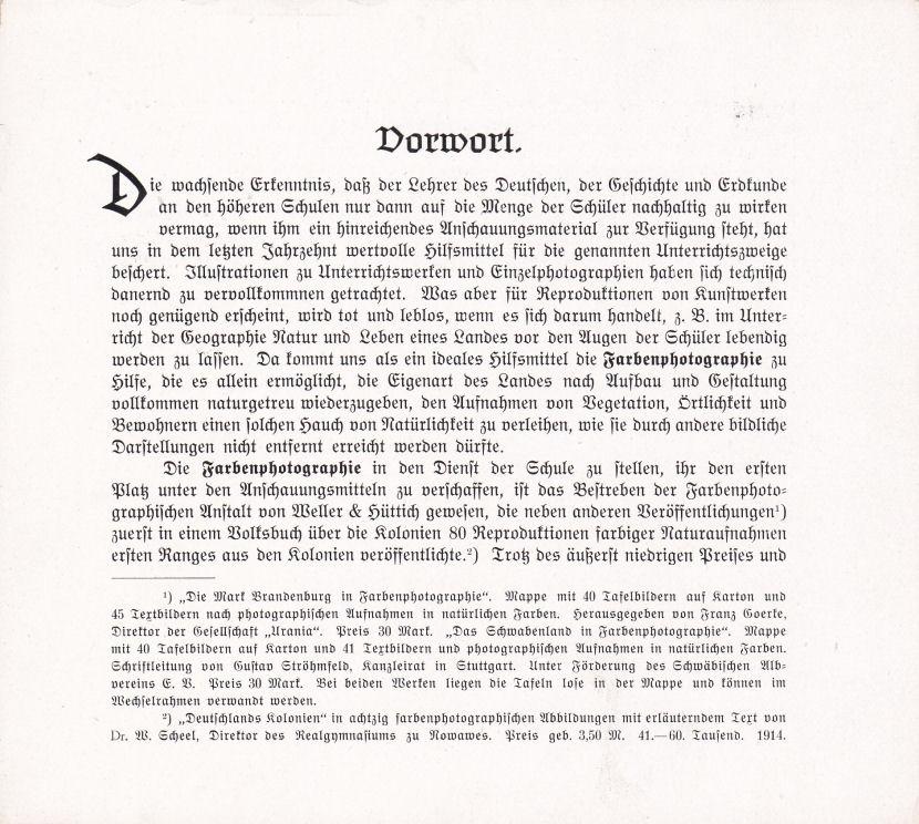 Vorwort, Seite 1