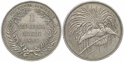1 Neu-Guinea Mark, 1894