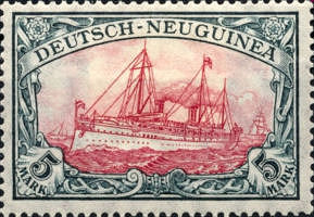 Deutsch-Neu-Guinea, 5 Mark, 1901