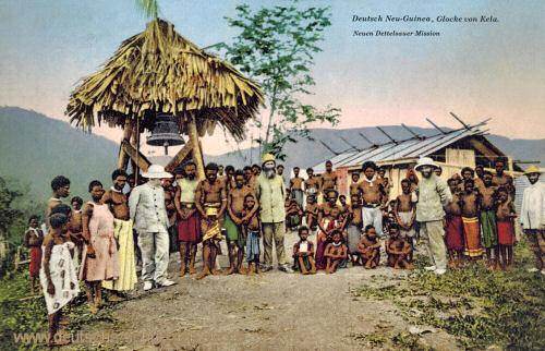 Deutsch-Neu-Guinea, Glocke von Kela