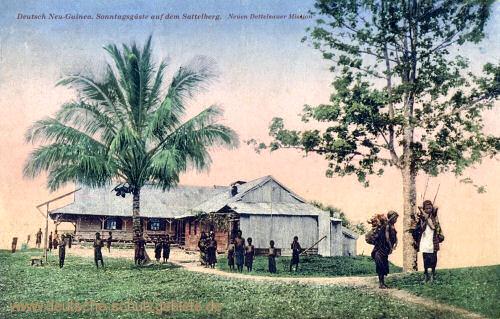 Deutsch-Neu-Guinea, Sonntagsgäste auf dem Sattelberg