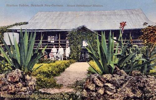 Deutsch-Neu-Guinea, Station Yabim