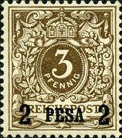 Deutsch-Ostafrika 2 Pesa, 1893