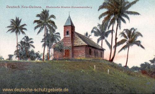 Deutsch-Neu-Guinea, Rheinische Mission Hansemannberg