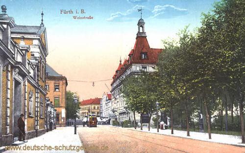 Fürth, Weinstraße