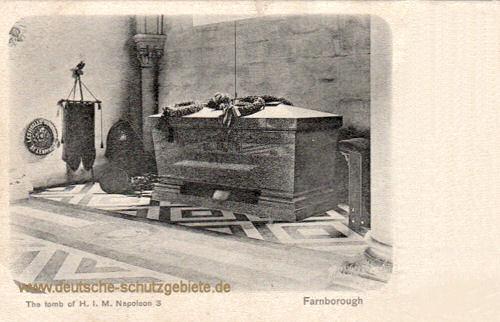 Das Grabmal Napoleons III.