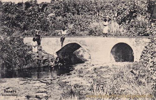 Karolinien, Ponape, Steinbrücke