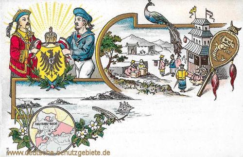 Kiautschou-Bucht. Besetzung 1898