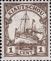 Kiautschou 1 Cent, 1905