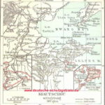 Kiautschou, Karte 1912