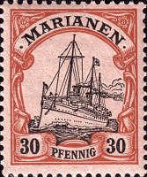 Marianen, 30 Pfennig, 1901