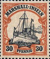 Marshall-Inseln, 30 Pfennig, 1900