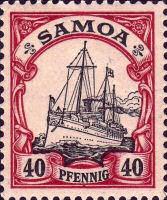 Samoa 40 Pfennig, 1900