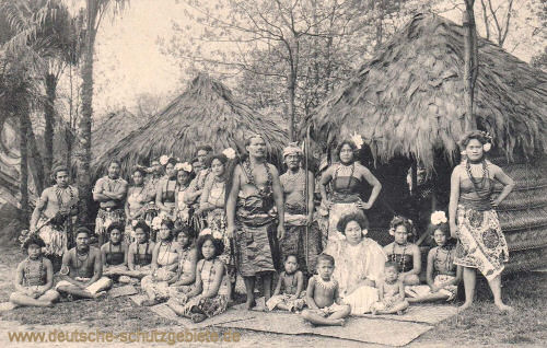 Samoa, Gebrüder Marquardt's völkerschaftliche Schaustellung
