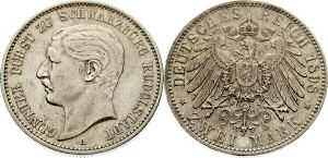 2 Mark 1908, Günther Fürst zu Schwarzburg Rudolstadt