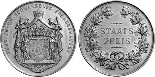Schwarzburg-Sondershausen, Staatspreis