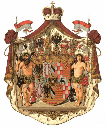 Fürstentum Schwarzburg-Sondershausen, Großes Staatswappen